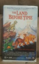 The Land Before Time (VHS, 1988) clamshell case
