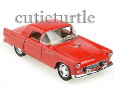 Kinsmart 1955 Ford Thunderbird 1:32 Diecast Toy Car Red