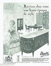 PUBLICITE ADVERTISING 036  1965  Ehalt meubles  salle à manger Elysée