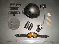 Soldier Story 1/6 Scale FBI CIRG FAST Carbon Helmet + Accessories SS-062