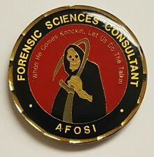 AFOSI Air Force Office of Special Investigations Forensic Sciences Consultant