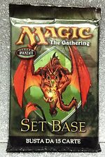 MAGIC THE GATHERING BUSTINA SET BASE NONA EDIZIONE 15 CARD BOOSTER ITALIA E