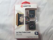 Griffin Technology 3 QTY Ultra Thin Case 38 mm Apple Watch Snap on Style GB42092
