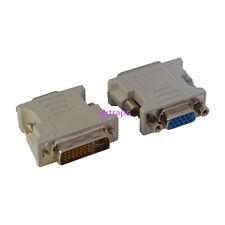 DVI DVI-I Male 24+5 Pin to VGA Female Video Converter Adapter for DVD HDTV US