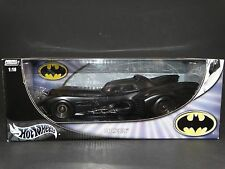Hot Wheels 1989 Batmobile Batman Returns 1:18 Scale Diecast Metal Model 2003 Car