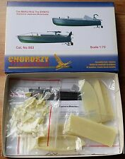 S53-The MARU-IN&The SHINYO-Explosive Japanese Motorboats-Choroszy Modelbud-1/72