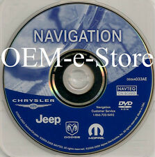 2006 2007 2008 Dodge Caliber & Viper RB1 REC Navigation OEM DVD Map U.S / Canada