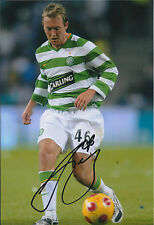 Aiden McGEADY SIGNED Autograph Photo AFTAL COA CELTIC SPL League Winner