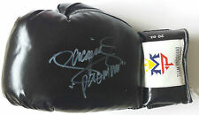 MANNY PACQUIAO Signed Glove WORLD WELTERWEIGHT BOXING Champion PROOF COA