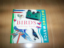 book nature watch BIRDS activity book jen green