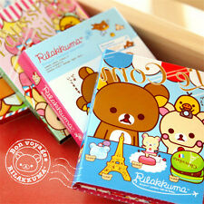Bear Sticker Paste Bookmark Point Memo Flag Paper Sticky Note Flodable Book Xmas