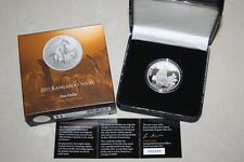 (PL) 2011 Australia $1 Kangaroo Allied Rock Wallaby Silver Proof Coin ROYAL MINT