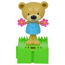 Solar-Powered Connectable Dancing Bears with Flowers US Seller