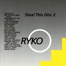 FRANK ZAPPA, JIMI HENDRIX, JERRY GARCIA + ~ STEAL THIS DISC 2 ~ CD 1988 RYKO