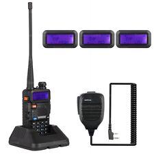 NKTECH UV-5R PLUS VHF Tri-Power 8W 4W 1W Two Way Radio Walkie Talkie BaoFeng Mic