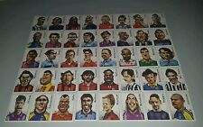 FIGURINE CALCIATORI PANINI 2000 SERIE CARICATURE CALCIO FOOTBALL SOCCER ALBUM
