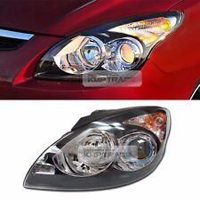 OEM Projection Black Bezel Head Light Lamp LH for HYUNDAI 08-12 Elantra Touring