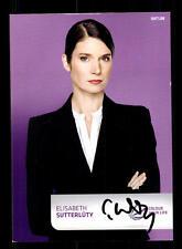 Elisabeth Sutterlüty SAT 1 Autogrammkarte Original Signiert # BC 85815