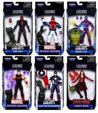 "Marvel Legends Captain America Civil War Wave 3 Set ""Abomination Wave"""