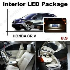 For Honda CRV 2016 & Up Xenon White LED Interior kit + White License Light LED