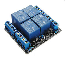 5V 4 Channel Relay Module Extension Switch Board For Arduino PIC ARM AVR DSP PLC