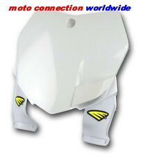 CYCRA FACTORY TYPE FRONT NUMBER PLATE WHITE KTM SXF250 SXF350 SXF550 2013 - 2015