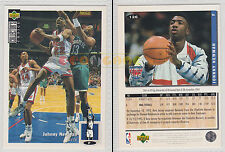 NBA UPPER DECK 1994 COLLECTOR'S CHOICE - Johnny Newman #126 - Ita/Eng- MINT
