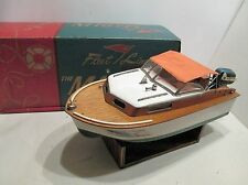 FLEETLINE MARLIN BOAT WITH EVINRUDE OUTBOARD MOTOR IN ORIGINAL BOX EXCELLENT CON