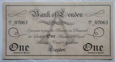 "Assassin's Creed Syndicate Pound Note PROMO ""MONEY"" rare and mint FREE POSTAGE"