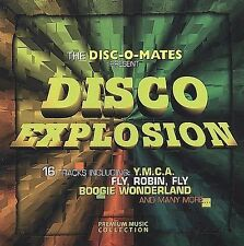 Disco Explosion Various Artists MUSIC CD