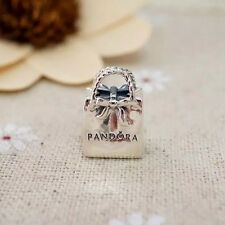 Perfect Gift Genuine Pandora 925 Ale Shopping Bag / Handbag Charm 791184