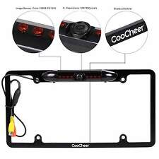 Car Rear View Backup Waterproof Camera IR Night Vision US License Plate Frame R8