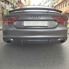 "PAIR 2.5"" In AUDI RS LOOK Oval Out Stainless Steel Exhaust Tip For A7 A6 A5 TT"