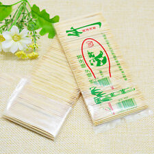 1 Bag Bamboo Toothpicks Cocktail Stick Appetizer Sticks Are Disposable QW