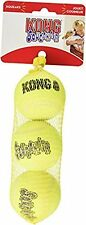 New Kong Air Squeakair Ball, Medium, Pack of 3 Brand NEW & FAST Delivery