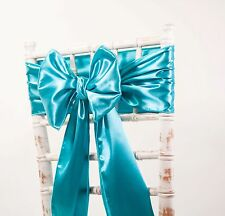 SATIN SASHES + MATCHING RUNNERS - WEDDING DECOR EVENTS - 41 COLOURS AVAILABLE