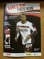 15/12/2008 Charlton Athletic v Derby County  (Worn)