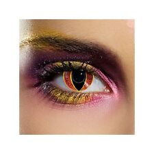 lentilles de couleur fantaisie festives sauron - Sauron fancy contact lens