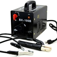 Black pro series Arc stick mma Welder Machine Rod Welding 100amp 110 v AC Tools