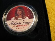 "2017 Uncirculated Silver Eagle First Lady ""Melania Trump"" LIMITED ED 1 of 20"