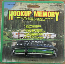 Hookup Memory Slide Level RV, Travel, Pop Up, and 5th Fifth Wheel Trailers