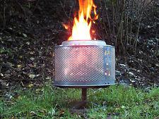 Tambor de la lavadora como Iluminación eventos, Chimenea, Calefactor exteriores