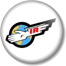 "Thunderbirds International Rescue Logo Symbol 1"" Pin Button Badge Tracy Island"