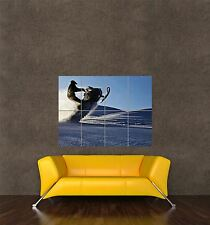 POSTER PRINT PHOTO SPORT LIESURE SNOWMOBILE SNOW MOBILE STUNT SNOW WINTER SEB971