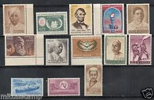 """INDIA 1965 YEAR SET COLLECTOR PACK COMPLETE 13V """" WHITE GUM """" MNH"""
