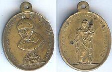 Médaille religieuse - Transfert des reliques de St VINCENT DE PAUL 25 avril 1830