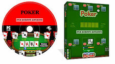 Poker Texas Holdem Juego De Pc software para Windows Pc Cd Rom