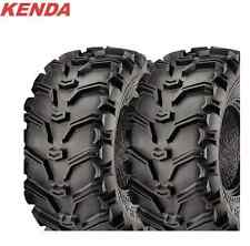 KENDA 6 PLY Bear Claw 25x12-10 ATV Tire Set of 2 TIRES 25x12.5-10 Pair Bearclaw