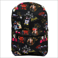 Batman Joker Cat Woman Robin Classic 1966 TV Series Sublimated Backpack Bag NEW