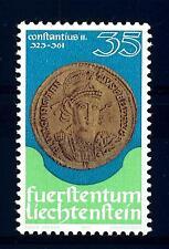 LIECHTENSTEIN - 1977 - Monete e medaglie. I° serie